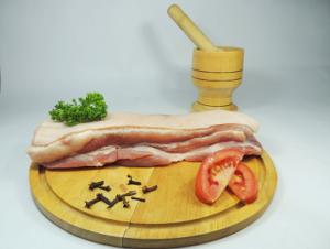 Pancetea de cerdo entera